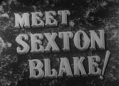 Meet Sexton Blake 1945 DVD - David Farrar / Manning Whiley